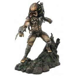 PREDATOR GALLERY UNMASKED JUNGLE HUNTER PREDATOR SDCC 2020 FIGURE STATUE DIAMOND SELECT