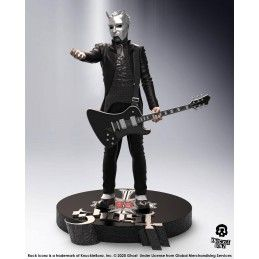 KNUCKLEBONZ ROCK ICONZ - GHOST NAMELESS GHOUL BLACK GUITAR LIMITED EDITION STATUE 22 CM RESIN FIGURE