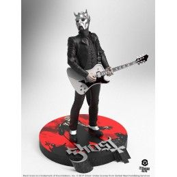 ROCK ICONZ - GHOST NAMELESS GHOUL WHITE GUITAR LIMITED EDITION STATUE 22 CM RESIN FIGURE KNUCKLEBONZ