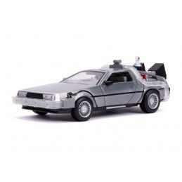 BACK TO THE FUTURE II - RITORNO AL FUTURO 2 - DELOREAN TIME MACHINE DIE CAST 1/24 MODEL FIGURE JADA TOYS
