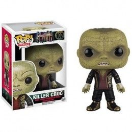FUNKO FUNKO POP! SUICIDE SQUAD - KILLER CROC BOBBLE HEAD KNOCKER FIGURE