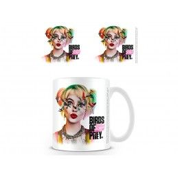 PYRAMID INTERNATIONAL BIRDS OF PREY HARLEY QUINN MUG TAZZA IN CERAMICA