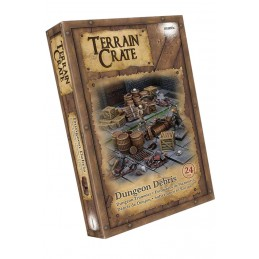 TERRAIN CRATE - DUNGEON DEBRIS SET MINIATURES MANTIC