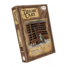 TERRAIN CRATE - LIBRARY SET MINIATURES MANTIC