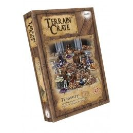 TERRAIN CRATE - TREASURY SET MINIATURES MANTIC