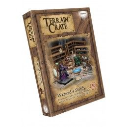 TERRAIN CRATE - WIZARD'S STUDY SET MINIATURES MANTIC