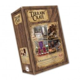 TERRAIN CRATE - ADVENTURER'S CRATE SET DIORAMA MINIATURES MANTIC
