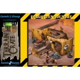 MANTIC TERRAIN CRATE - FORGOTTEN FOUNDRY SET DIORAMA MINIATURES