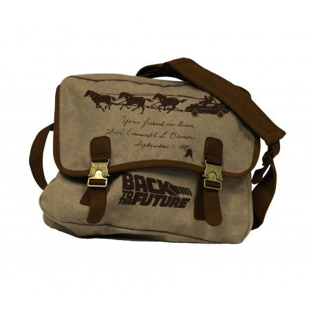 BACK TO THE FUTURE FARWEST FABRIC MAILBAG - BORSA A TRACOLLA IN TESSUTO RITORNO AL FUTURO
