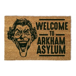 BATMAN ZERBINO TAPPETINO THE JOKER ARKHAM ASYLUM DOORMAT 40X60cm PYRAMID INTERNATIONAL