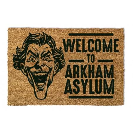 BATMAN ZERBINO TAPPETINO THE JOKER ARKHAM ASYLUM DOORMAT 40X60cm