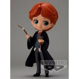 BANPRESTO HARRY POTTER Q POSKET - RON WEASLEY WITH SCRABBERS 14 CM MINI ACTION FIGURE