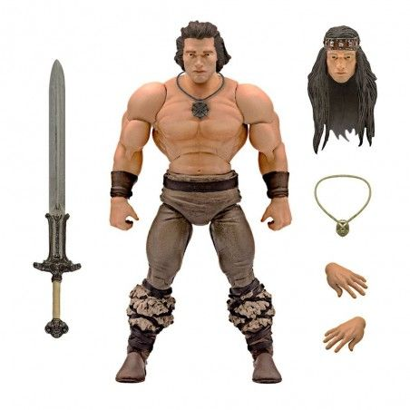 CONAN THE BARBARIAN CONAN ICONIC MOVIE POSE ACTION FIGURE