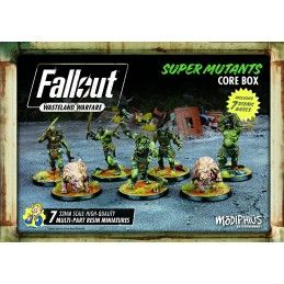 FALLOUT WASTELAND WARFARE - SUPER MUTANTS CORE BOX MINIATURES SET MODIPHIUS ENTERTAINMENT