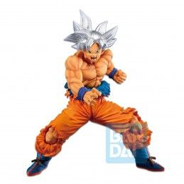BANDAI DRAGON BALL SUPER ICHIBANSHO SON GOKU ULTRA INSTINCT (VS OMNIBUS) 20CM PVC STATUE FIGURE