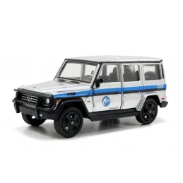 JURASSIC WORLD - DIE CAST METAL MERCEDES G-CLASS 1/43 MODEL
