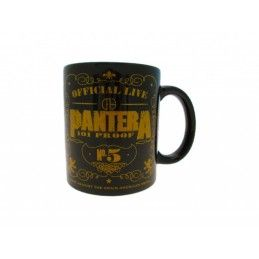 PYRAMID INTERNATIONAL PANTERA LOGO CERAMIC MUG TAZZA IN CERAMICA