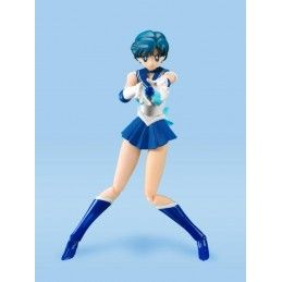 BANDAI SAILOR MERCURY ANIMATION COLOR EDITION S.H. FIGUARTS ACTION FIGURE