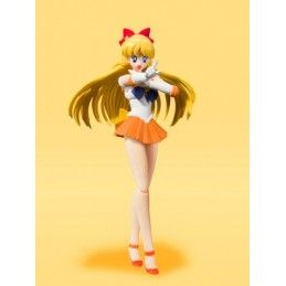 BANDAI SAILOR VENUS ANIMATION COLOR EDITION S.H. FIGUARTS ACTION FIGURE
