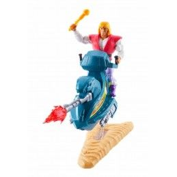 MATTEL MASTERS OF THE UNIVERSE ORIGINS PRINCE ADAM SKY SLED ACTION FIGURE