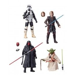 HASBRO STAR WARS THE BLACK SERIES ARCHIVE WAVE 2 4X SET ACTION FIGURE