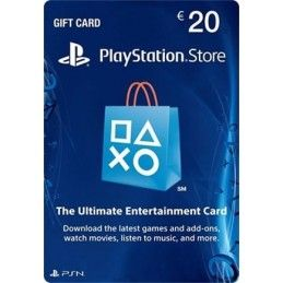 SONY PLAYSTATION NETWORK CARD 20 EURO DIGITAL DELIVERY