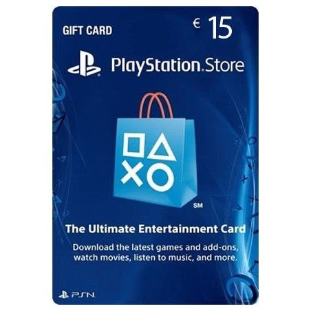 SONY PLAYSTATION NETWORK CARD 15 EURO DIGITAL DELIVERY