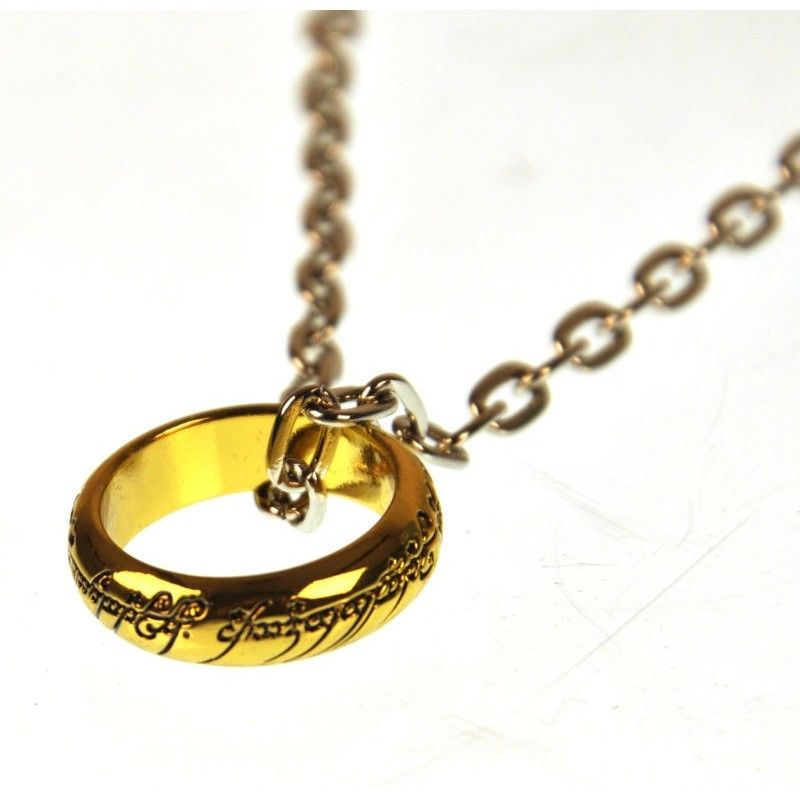 NOBLE COLLECTIONS IL SIGNORE DEGLI ANELLI LORD OF THE RINGS ANELLO THE ONE RING