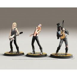 KNUCKLEBONZ GUNS N ROSES ROCK ICONZ TRIO SET STATUE RESIN FIGURE
