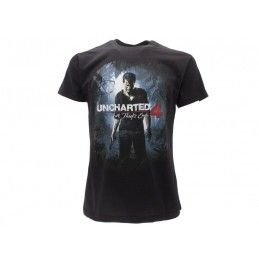 MAGLIA T SHIRT UNCHARTED 4 A THIEF'S END