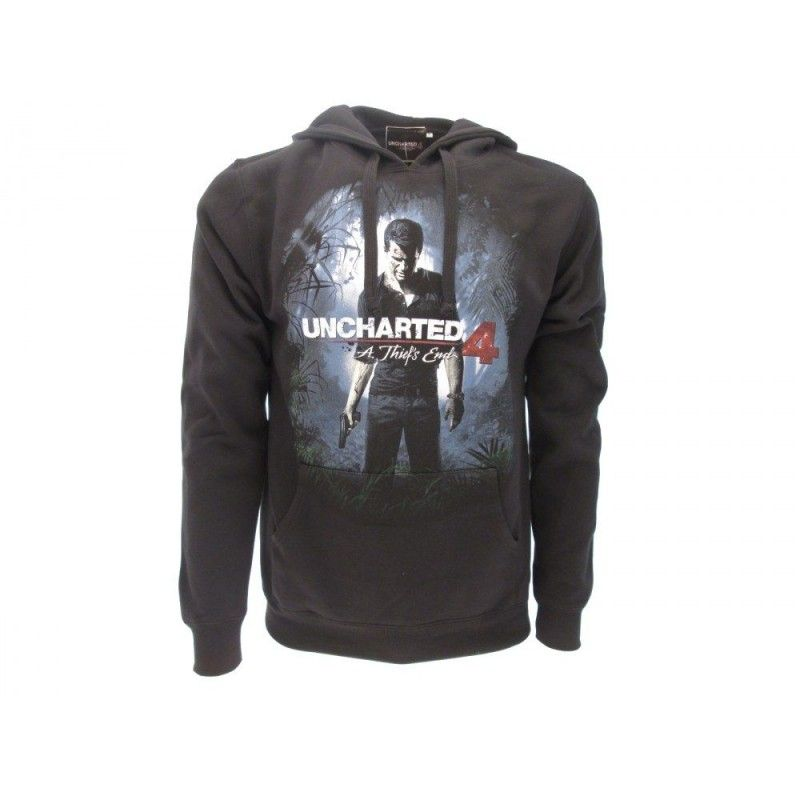 FELPA HOODIE UNCHARTED 4 A THIEF'S END