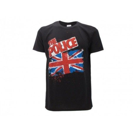 MAGLIA T SHIRT THE POLICE UNION JACK