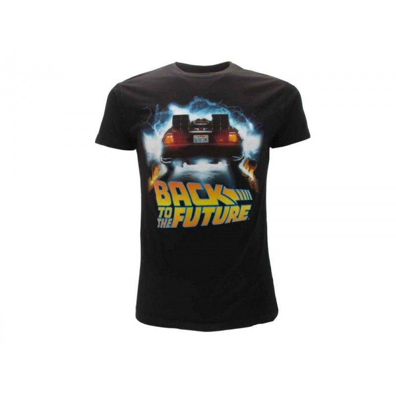 MAGLIA T SHIRT BACK TO THE FUTURE DELOREAN