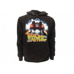 FELPA HOODIE BACK TO THE FUTURE DELOREAN