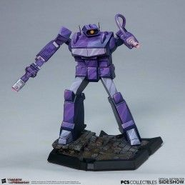 PCS COLLECTIBLES TRANSFORMERS CLASSIC SCALE SHOCKWAVE STATUE FIGURE