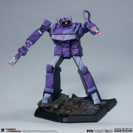 TRANSFORMERS CLASSIC SCALE SHOCKWAVE STATUE FIGURE