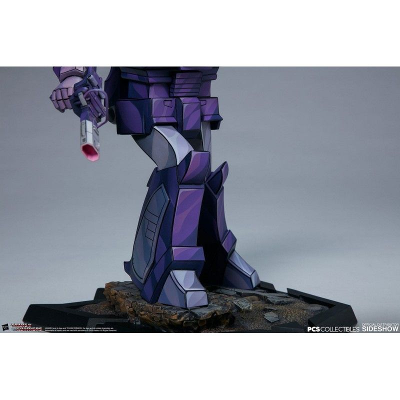 TRANSFORMERS CLASSIC SCALE SHOCKWAVE STATUE FIGURE PCS COLLECTIBLES