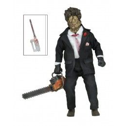 THE TEXAS CHAINSAW MASSACRE 2 - LEATHERFACE RETRO ACTION FIGURE