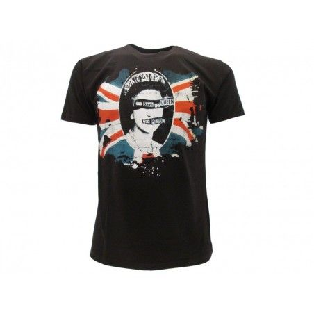 MAGLIA T SHIRT SEX PISTOLS GOD SAVE THE QUEEN