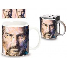 STEVE JOBS PAINT CERAMIC MUG TAZZA CERAMICA