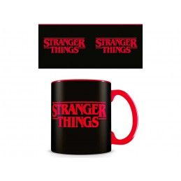 PYRAMID INTERNATIONAL STRANGER THINGS LOGO CERAMIC MUG TAZZA IN CERAMICA