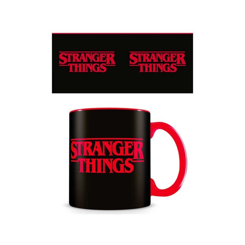 STRANGER THINGS LOGO CERAMIC MUG TAZZA IN CERAMICA PYRAMID INTERNATIONAL