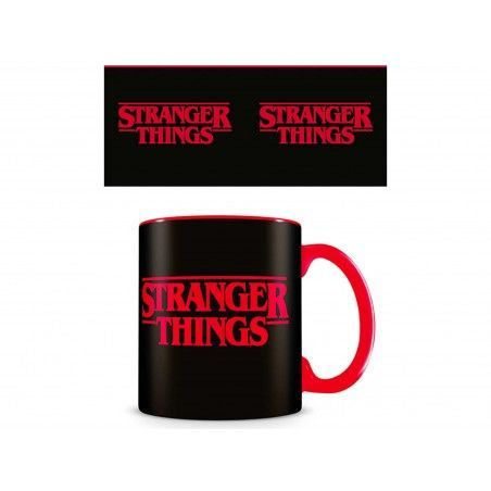 STRANGER THINGS LOGO CERAMIC MUG TAZZA IN CERAMICA