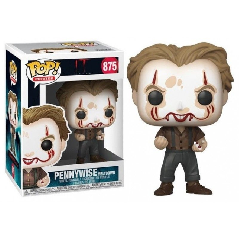 FUNKO POP! IT PENNYWISE MELTDOWN BOBBLE HEAD KNOCKER FIGURE FUNKO