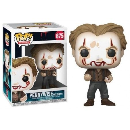FUNKO POP! IT PENNYWISE MELTDOWN BOBBLE HEAD KNOCKER FIGURE
