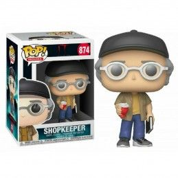 FUNKO POP! IT STEPHEN KING SHOPKEEPER BOBBLE HEAD KNOCKER FIGURE FUNKO