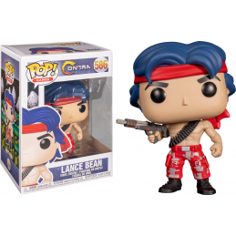 FUNKO FUNKO POP! CONTRA LANCE BEAN BOBBLE HEAD KNOCKER FIGURE