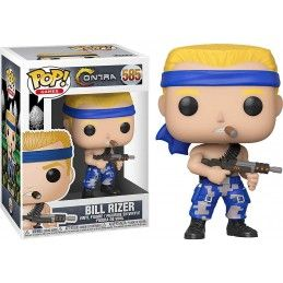 FUNKO FUNKO POP! CONTRA BILL RIZER BOBBLE HEAD KNOCKER FIGURE