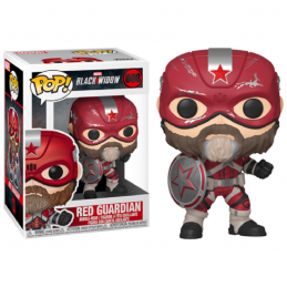 FUNKO POP! BLACK WIDOW RED GUARDIAN BOBBLE HEAD KNOCKER FIGURE FUNKO