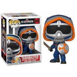 FUNKO POP! BLACK WIDOW TASKMASTER WITH SHIELD BOBBLE HEAD KNOCKER FIGURE FUNKO